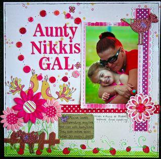 Aunty nikkis gal