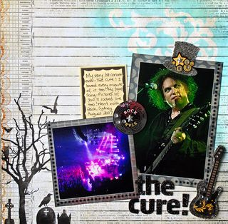 The cure concert