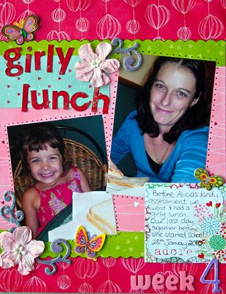Week 4 girly lunch